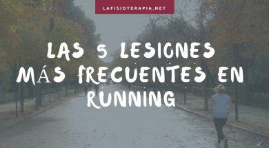 las 5 lesiones mas frecuentes en running